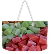 Tray Of Melon Chunks Art Prints Weekender Tote Bag