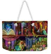 Fairytake Treasure Hunt Book Shelf Variant 4 Weekender Tote Bag