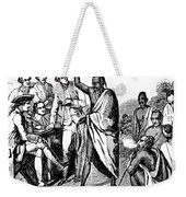 Treaty With Iroquois Indians Five Weekender Tote Bag