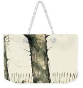 Tree And Geese Weekender Tote Bag