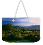 Tree And Plants On A Landscape Weekender Tote Bag