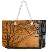 Tree And Shadow At Cogswells Grant Weekender Tote Bag