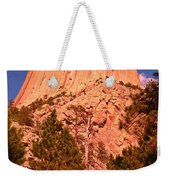 Tree At Devils Tower Weekender Tote Bag