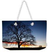 Tree At Sunrise Weekender Tote Bag