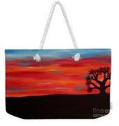 Tree At Sunset II Weekender Tote Bag