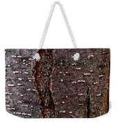 Tree Bark To The Left Weekender Tote Bag