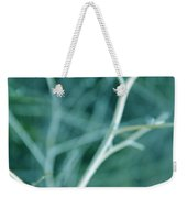 Tree Branches Abstract Teal Weekender Tote Bag