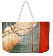 Tree Branches Shadow On Wall Weekender Tote Bag