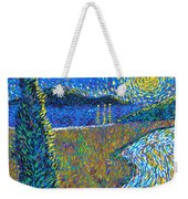 Tree By The Road Weekender Tote Bag