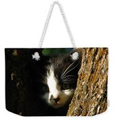 Tree Cat Weekender Tote Bag
