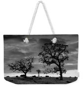 Tree Family In Black And White Weekender Tote Bag
