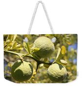 Tree Fruit Weekender Tote Bag