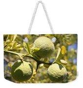Tree Fruit Weekender Tote Bag