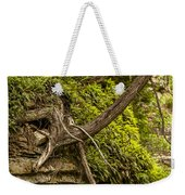 Tree Grows From Rock Outcrop Weekender Tote Bag