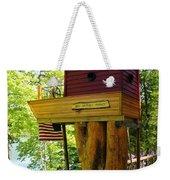 Tree House Boat Weekender Tote Bag