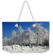 Tree Ice Weekender Tote Bag