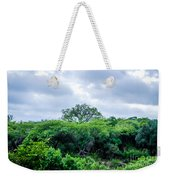 Marula Tree In African Sky Weekender Tote Bag