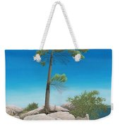 Tree In Rock Weekender Tote Bag