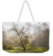 Tree In The Fog Weekender Tote Bag