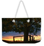 Tree In The Sunset Weekender Tote Bag