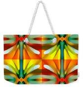Tree Light Square Pattern Weekender Tote Bag
