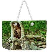 Tree Mouth Weekender Tote Bag