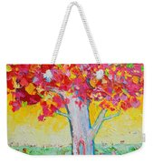 Tree Of Life In Spring Weekender Tote Bag by Ana Maria Edulescu