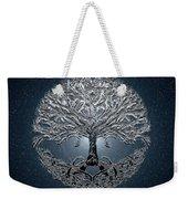 Tree Of Life Nova Blue Weekender Tote Bag