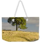 Tree On A Hill Vertical Weekender Tote Bag