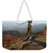 Tree On A Ridge In Bryce Canyon  Weekender Tote Bag