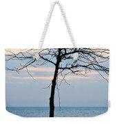 Tree On Beach Weekender Tote Bag