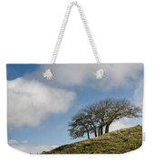 Tree On Hillside Weekender Tote Bag