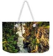 Tree On The Edge Of A Cliff Weekender Tote Bag