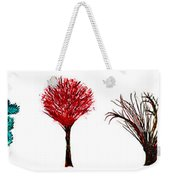 Tree Paintings In Wax Weekender Tote Bag