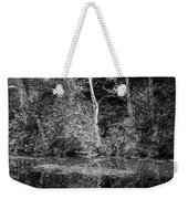 Tree Reflection In Chesapeake And Ohio Canal Weekender Tote Bag