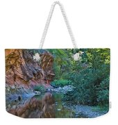 Tree Reflection Weekender Tote Bag