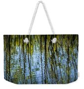 Tree Reflections On A Pond In West Michigan Weekender Tote Bag