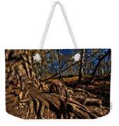 Tree Root Weekender Tote Bag