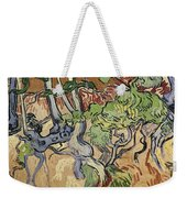 Tree Roots Weekender Tote Bag by Vincent Van Gogh
