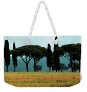 Tree Row In Tuscany Weekender Tote Bag