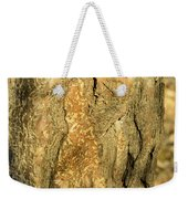 Tree Self Reflections In Bark Weekender Tote Bag