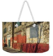 Tree Shadow On Brick 2 Weekender Tote Bag