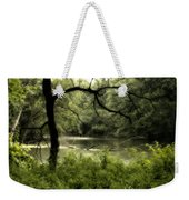 Tree Silhouette Weekender Tote Bag