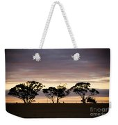Tree Silhouette Weekender Tote Bag