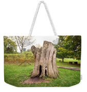 Tree Stump Weekender Tote Bag