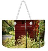 Tree Swing By The Outhouse Weekender Tote Bag