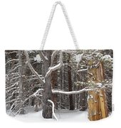 Tree Talk Weekender Tote Bag