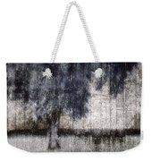 Tree Through Sheer Curtains Weekender Tote Bag