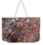 Tree Trunk Abstract Weekender Tote Bag