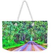 Tree Tunnel Kauai Weekender Tote Bag